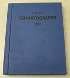 Semantography Volume 2 First Edition